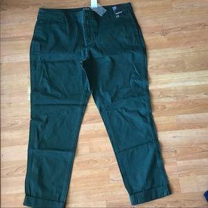 NWT dark green Soho Boyfriend Jeans